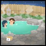 【背景】露天風呂02