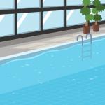【背景】屋内プール