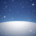 【背景】雪が降る夜
