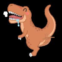 腰を振るオスの恐竜