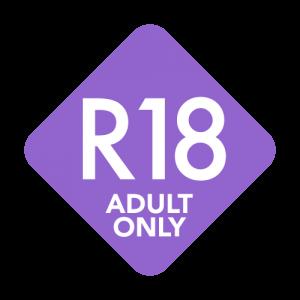 R18マーク 紫